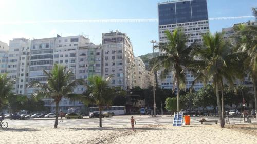 Beach front Copacabana Photo
