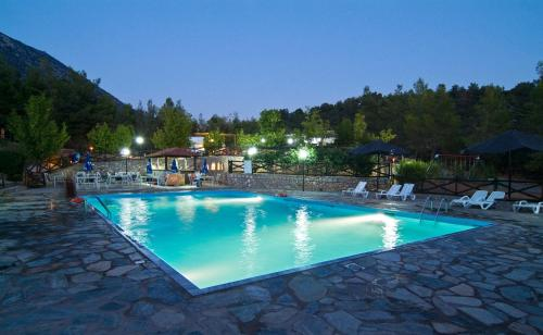 Bungalow - Camping Apollon - Delphi Greece