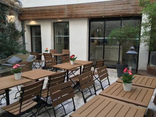 Hôtel Central - avignon - booking - hébergement