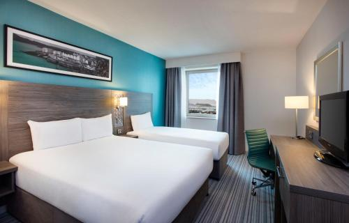 Jurys Inn East Midlands Airport (on-site), green hotel in Castle Donington, United Kingdom