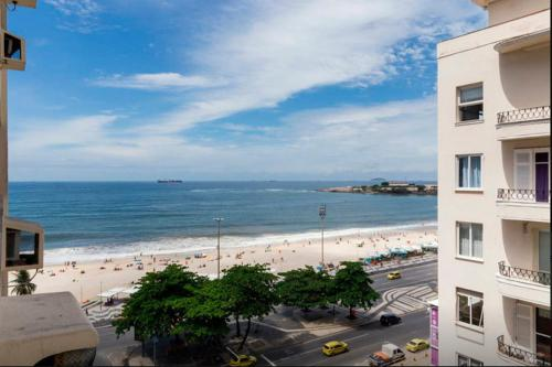 Copacabana Com Vista Para O Mar Photo