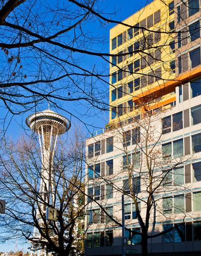 Space Needle Condos by Barsala Photo