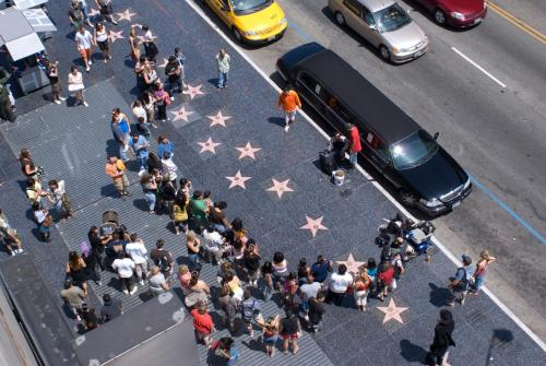 Hollywood LUX: STEPS to WALK of FAME Photo