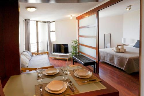 Bellas Artes Lastarria Apartment Photo