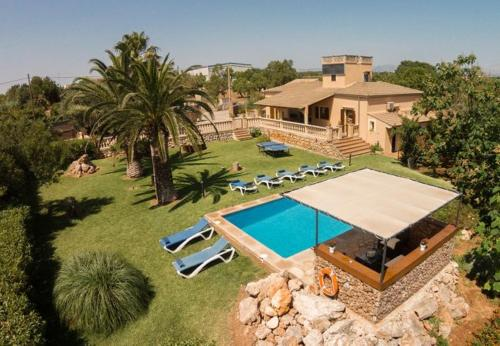 Four-Bedroom Apartment in Mallorca with Pool XXXIII, Кэн Пикафорт