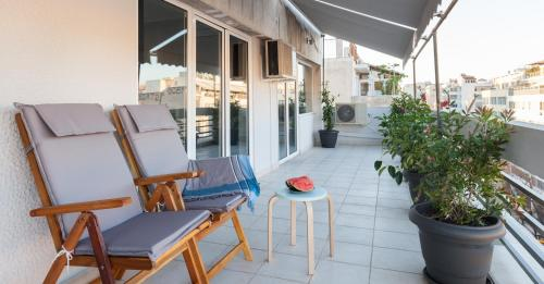 Luxury Penthouses with Acropolis View - Athènes - hebergement