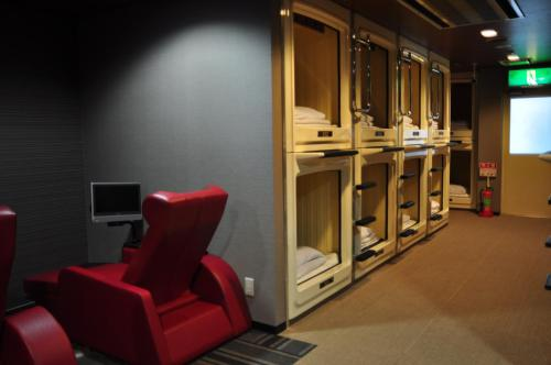 Capsule Hotel & Sauna Cosmo Plaza Akabane
