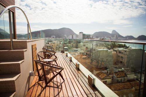 Ritz Copacabana Boutique Hotel Photo