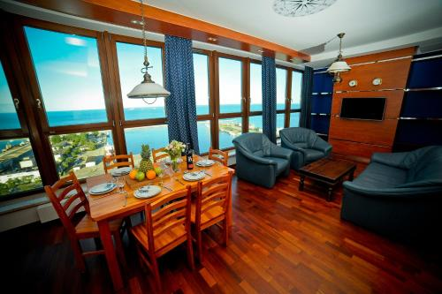 Sylwester w Gdyni Sylwester Luxury Yacht Club Apartment - Sea View