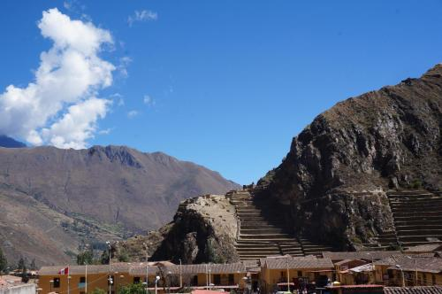 Ollantaytampu Hostel Main Square Photo