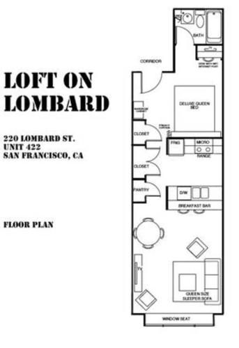 Lombard & Montgomery Apartment Photo