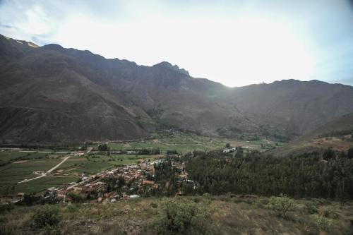 Ollantaytambo Village Photo