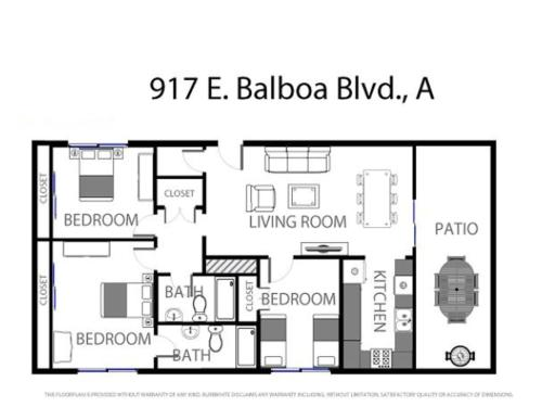 East Balboa A (68335) Apartment Photo
