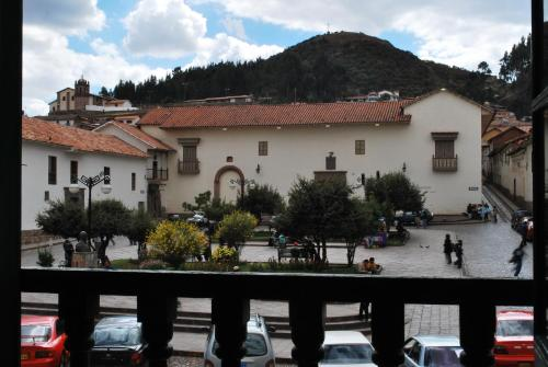 Cusco Plaza Nazarenas Photo