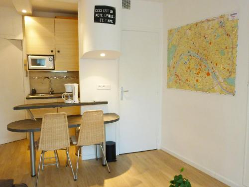 Apartment Geoffroy Saint Hilaire impression