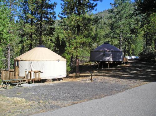 Yosemite Lakes Hillside Yurt 6 Photo