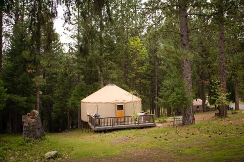 Yosemite Lakes Hillside Yurt 8 Photo