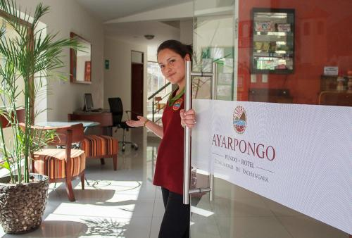 Fundo Hotel Ayarpongo Photo