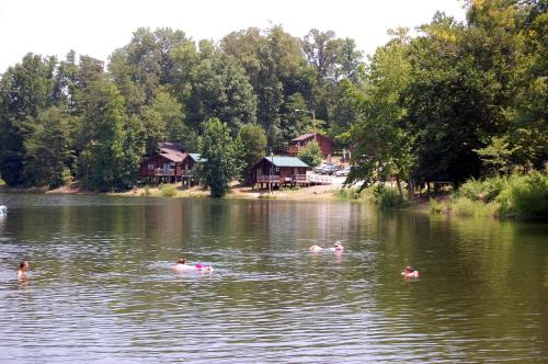 Forest Lake Camping Resort Lakefront Cabin 6 Photo
