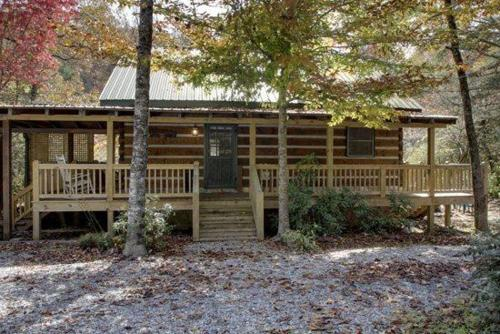 Toccoa River Log Cabin Photo