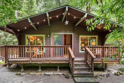 The Old Cazadero Cabin - Guerneville, CA 95446