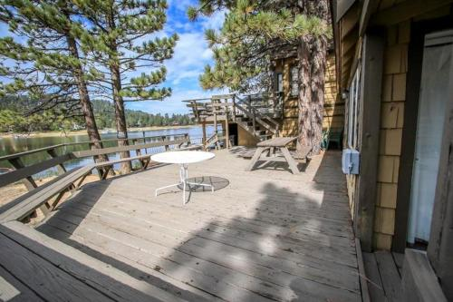 Cabin On The Lake Photo