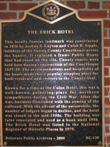 Brick Hotel on the Circle Photo