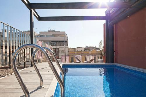 Hotel Apartment Barcelona Rentals - Pool Terrace In City Center