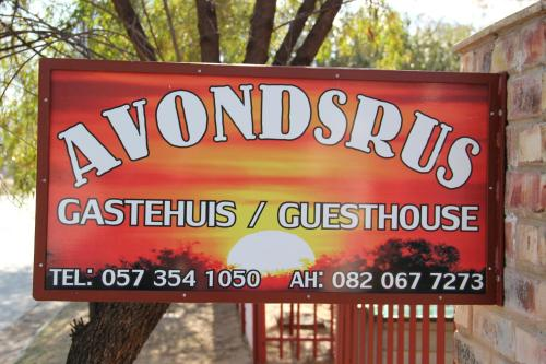 Avondsrus Guesthouse Photo