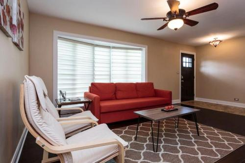Three Bedroom Vacation House Near Chicago In Wilmette Il Non Smoking Rooms