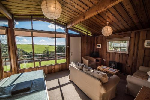 Timber Hill Self Catering Cedar Lodges