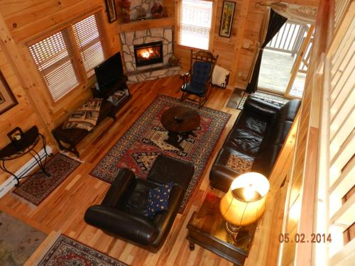 Lake Placid Log House Photo
