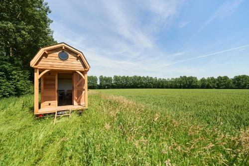 Hotel-overnachting met je hond in Wildernest Tiny House - Chaumont-Gistoux