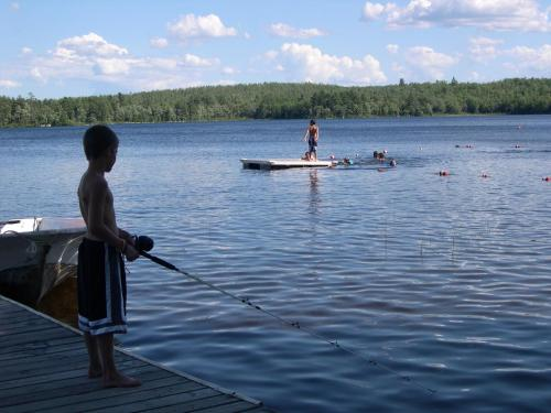 Patten Pond Camping Resort Cabin 5 - Ellsworth, ME 04605