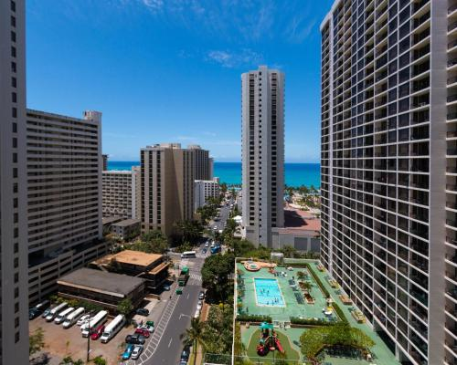 Tower 2 Suite 2014 at Waikiki Photo