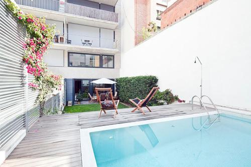 Hotel Apartment Barcelona Rentals - Private Pool And Garden Center