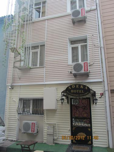 Istanbul Adeka Hotel Old City phone number