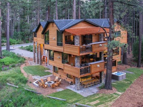 9 Bedroom/9 Bath Mansion W/Indoor Pool Vacation Rental - South Lake Tahoe, CA 96150