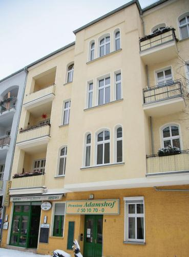 Hotel-Pension Adamshof, Берлин