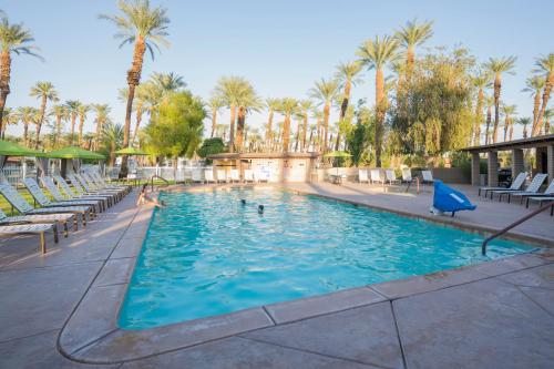 Palm Springs Camping Resort Loft Cabin 2 - Palm Desert, CA 92211