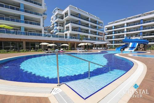 Alanya Crystal River Luxury Apartment rooms