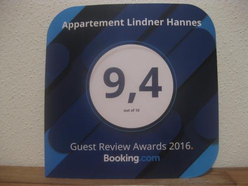 Appartement Lindner Hannes