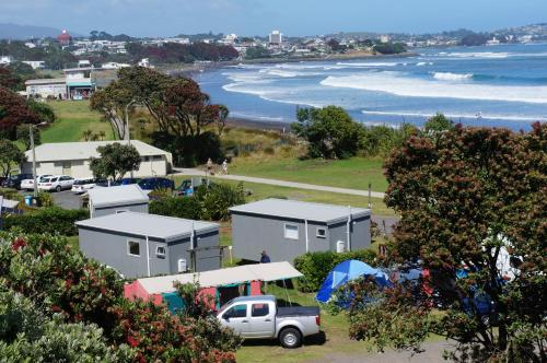 Fitzroy Beach Holiday Park, New Plymouth