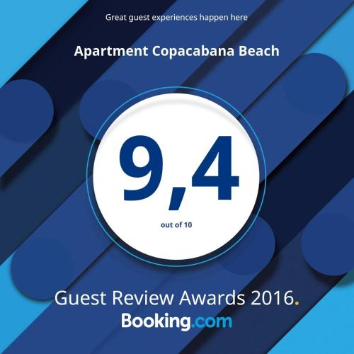 Apartment Copacabana Beach Photo