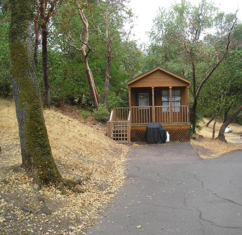 Russian River Camping Resort One-Bedroom Cabin 2 - Cloverdale, CA 95425