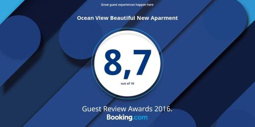 Ocean View Beautiful New Aparment Photo