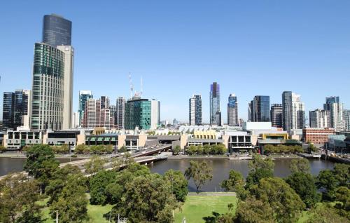 Melbourne Flinders St Modern 1 Bed Apartments (1121FLN)