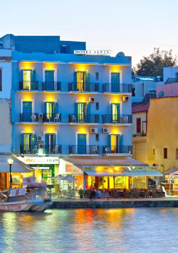 Lucia Hotel in chania - 2 star hotel