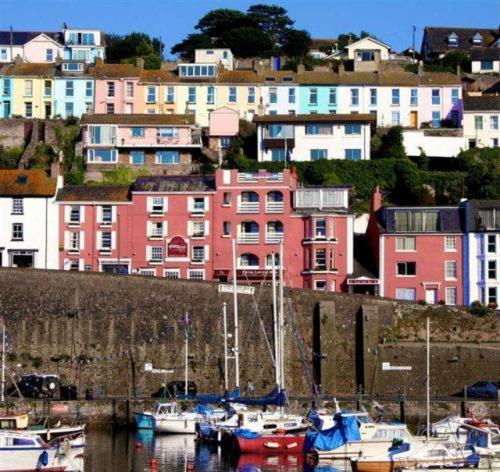 Enjoying Panoramic Views Over The Harbour And Torbay Quayside Hotel Consists Of 6 Beautifully Converted Fishermen S Cottages Retains A Cosiness