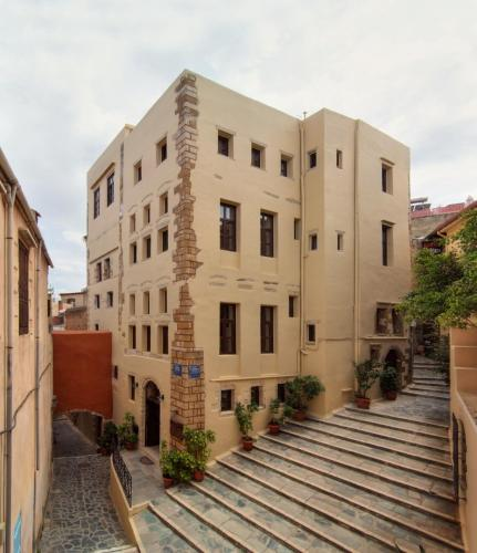 Porto Del Colombo Traditional Boutique Hotel in chania - 4 star hotel